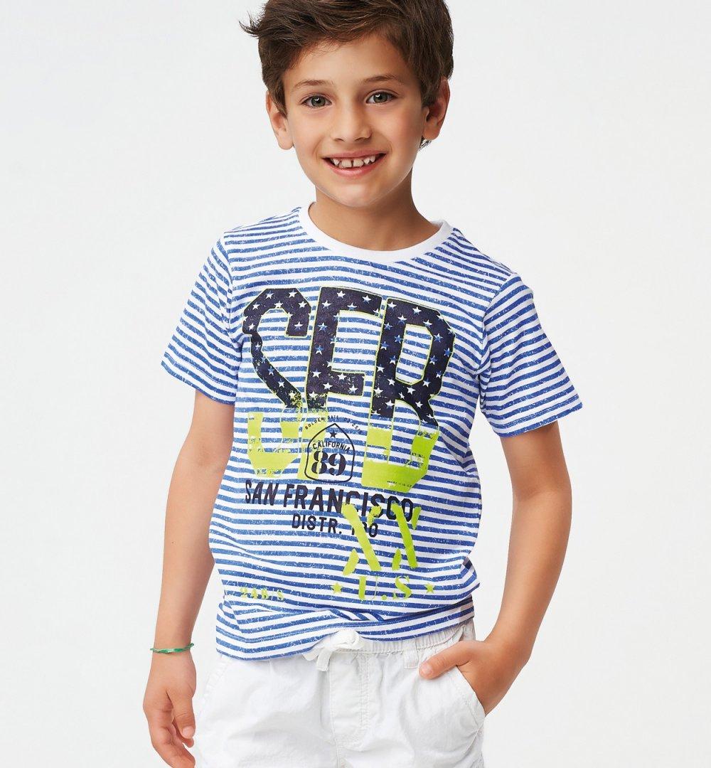 Camiseta m/c a rayas #1
