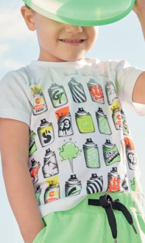 "Camiseta ""spray neon"""