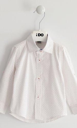 Camisa vestir con puntos