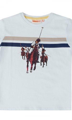 Camiseta estampada caballo