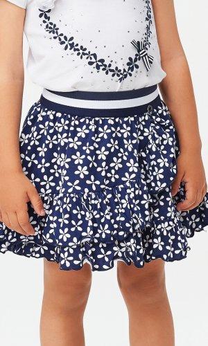 Falda estampada flor